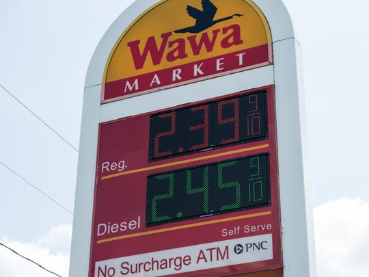 Gas prices are going up in the wake of hurricanes Harvey and Irma.