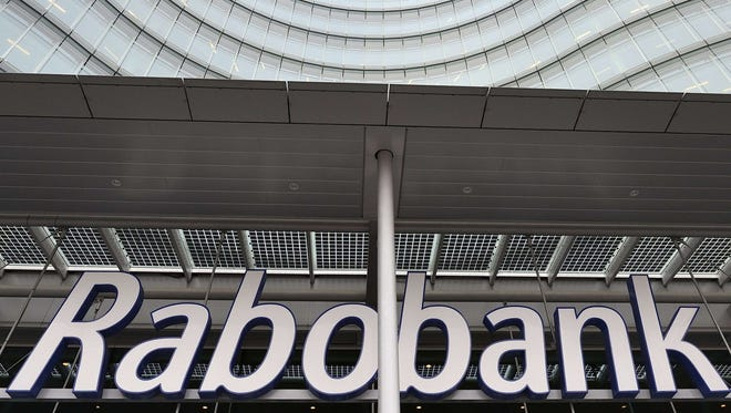Headquarters of Dutch co-operative bank Rabobank in Utrecht.