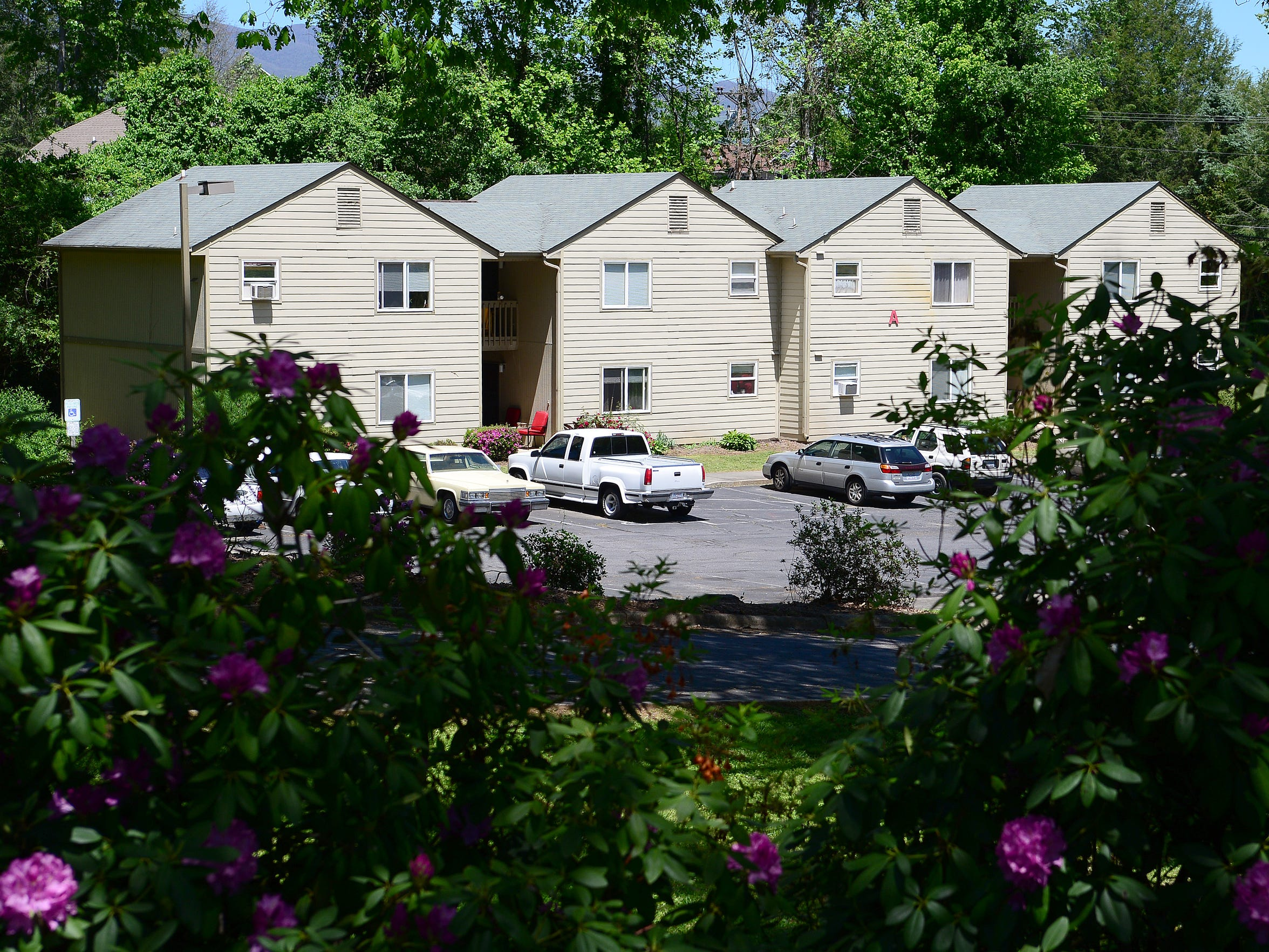 The CarrollHouse Apartments in Hayesville are the only