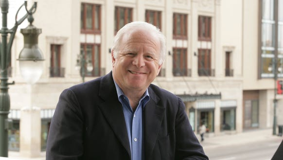 Leonard Slatkin, music director of the Detroit Symphony