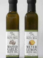 Roasted garlic and Meyer lemon extra-virgin olive oil from Queen Creek Olive Mill.