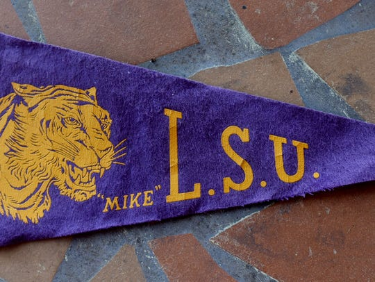 An old LSU flag.