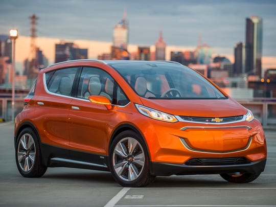 General Motors CEO Mary Barra will show a production version of the Chevrolet Bolt EV Wednesday at the Consumer Electronics Show in Las Vegas.