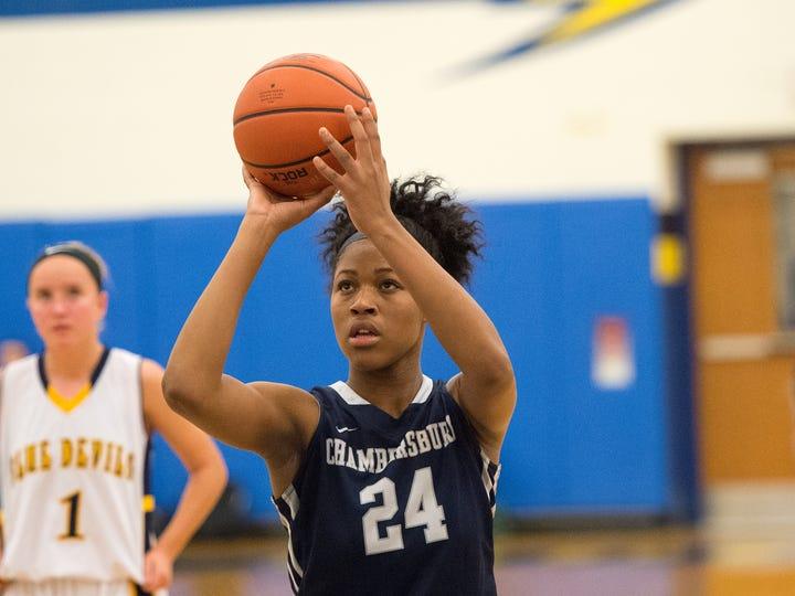 Franklin County Tip-Off Basketball Tournament on Friday, Dec. 9, 2016 at Waynesboro High School.