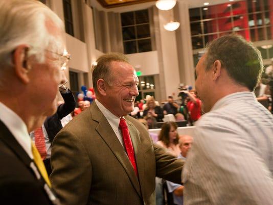 Roy Moore Senate Party