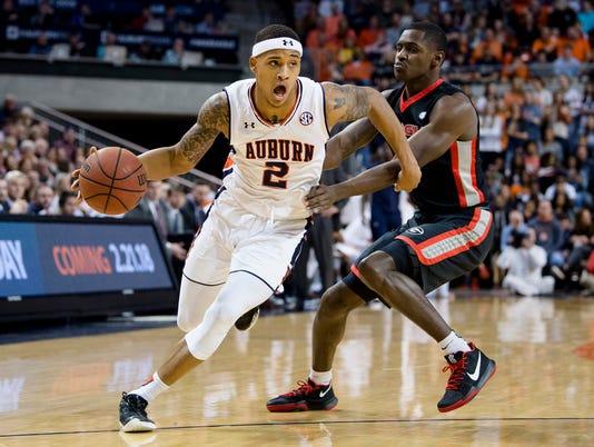 Georgia Auburn Basketball