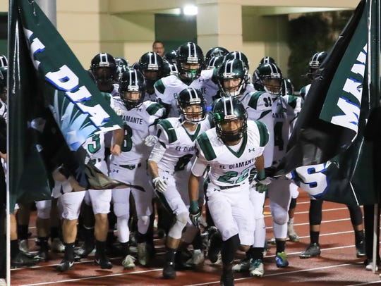 The El Diamante Miners' football team has made back-to-back