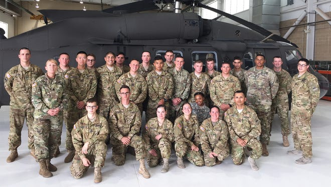 Soldiers from the 127th Aviation Support Battalion went to Europe this summer to support a large-scale multinational exercise known as Anakonda 16 in Poland.
