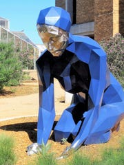 The Texas Tech campus in Lubbock has 88 pieces of art