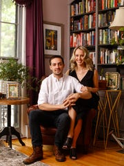 Harper Sibley and Julia Powers in their downtown home.