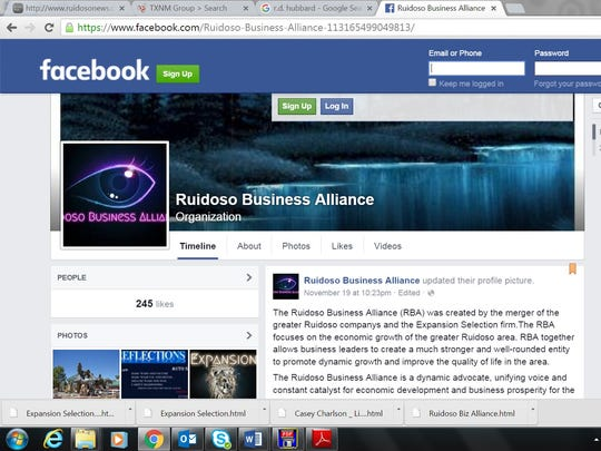 Local business figures question whether this Facebook