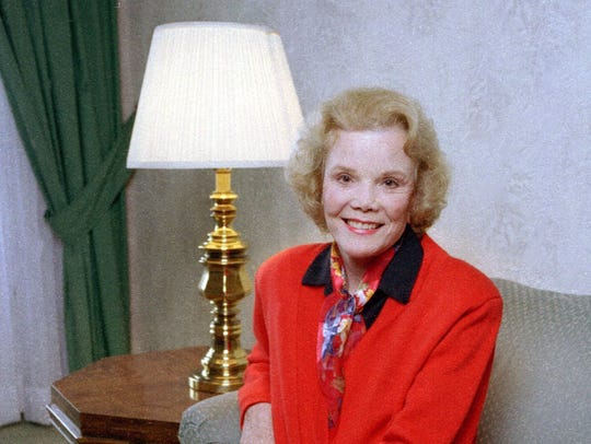 Actress Nanette Fabray in 1997.