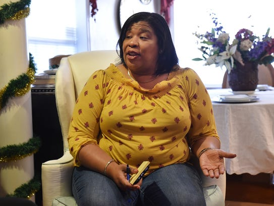 Reneal Johnson, adopted mother of Desmond Johnson,