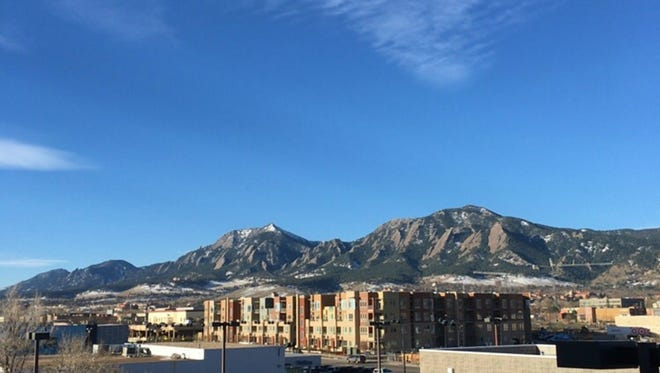 Boulder, Colo., is known for mountain views, fresh air and, now, recreational marijuana.