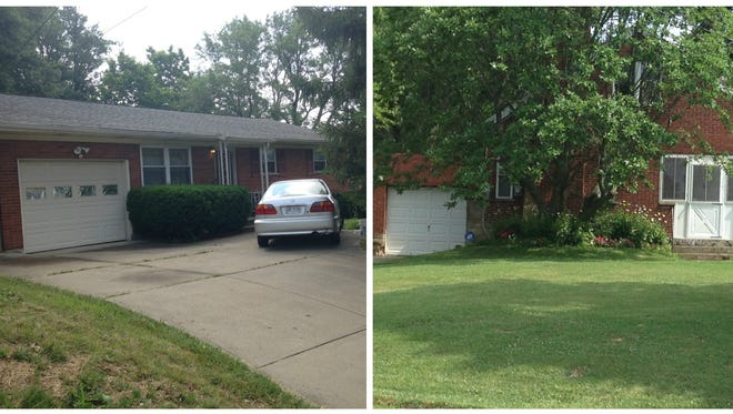 At left, is the Colerain Township house where Erwin Cardenas said he was staying. At right, is the nearby house Cardenas tried to get into June 26 after a night of drinking.