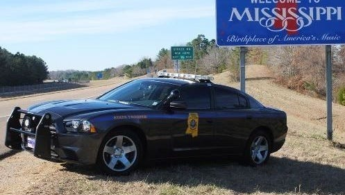 Mississippi Highway Patrol vehicle