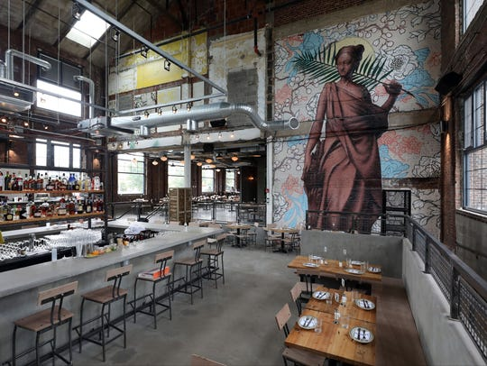 The interior of Fortina restaurant at the Boyce Thompson