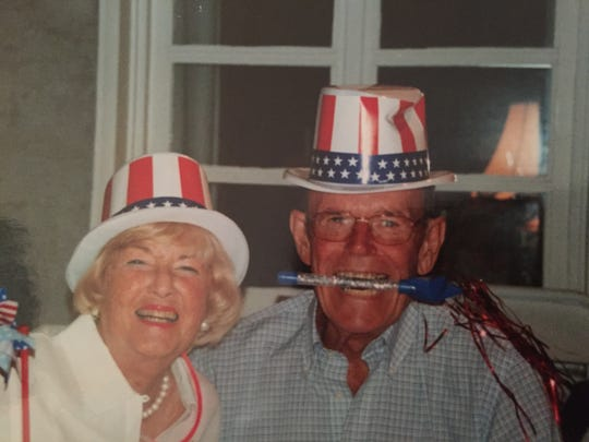 Betty and Ed Kiely, in their later years.