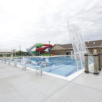 A rendering of the new Merrill Aquatic Center to open in June of 2016