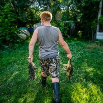 10 photos: Turtle trapping in eastern Iowa