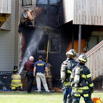 Firefighters blocked by boxes at Monsey apartment building fire