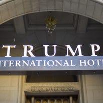 The Trump International Hotel in downtown Washington, D.C.
