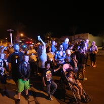 Desert Hot Springs residents walk to show support for police
