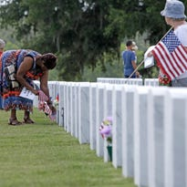 Tallahassee National Cemetery hosting Memorial Day observance on Sunday