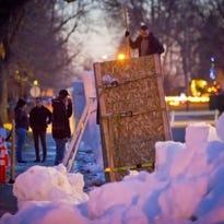 Snow sculptors head to Berthoud for annual Snowfest