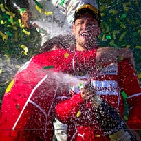 Sebastian Vettel breaks Ferrari's Formula One drought with victory at Aussie GP
