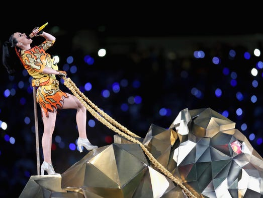 Recording artist Katy Perry performs onstage during
