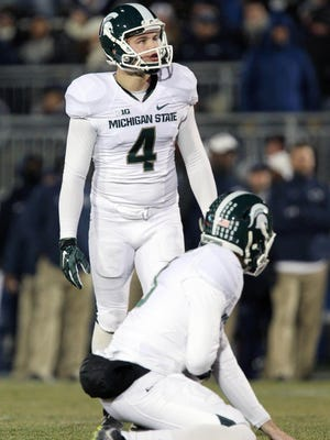 Kicker Michael Geiger hopes to rebound from an uneven sophomore season during which he missed eight of 22 field goal tries.