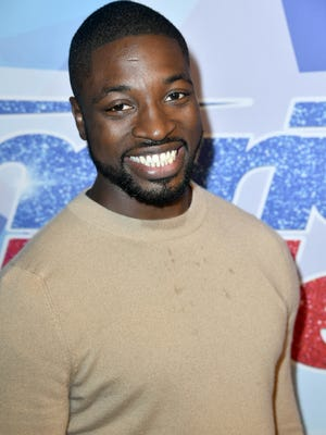 Preacher Lawson's jokes included Tyra Banks at the 'America's Got Talent' semi-finals Tuesday.