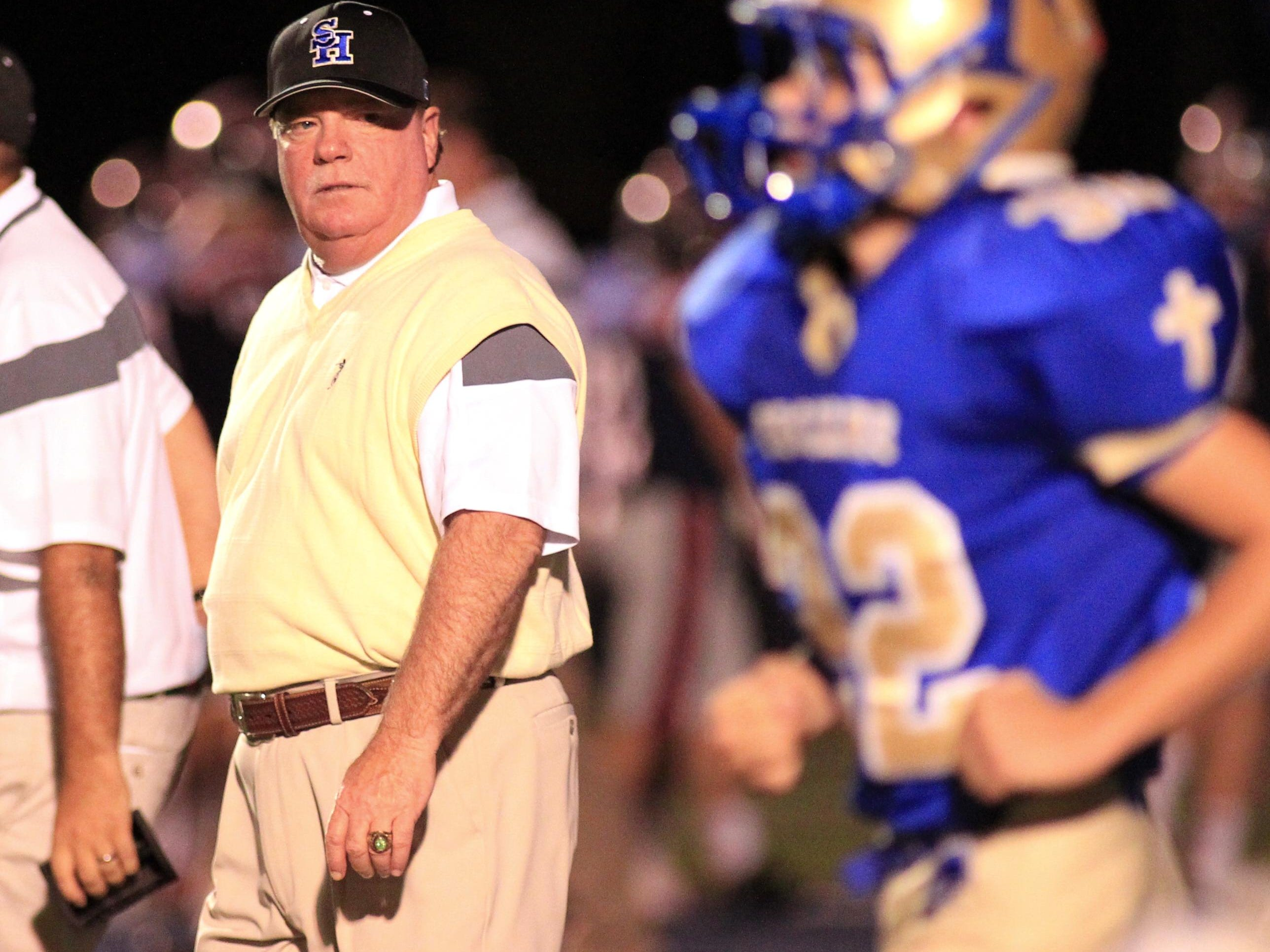 Gary Adkins announced last week that he was leaving Sacred Heart to become athletic director and head football coach at Abbeville High.