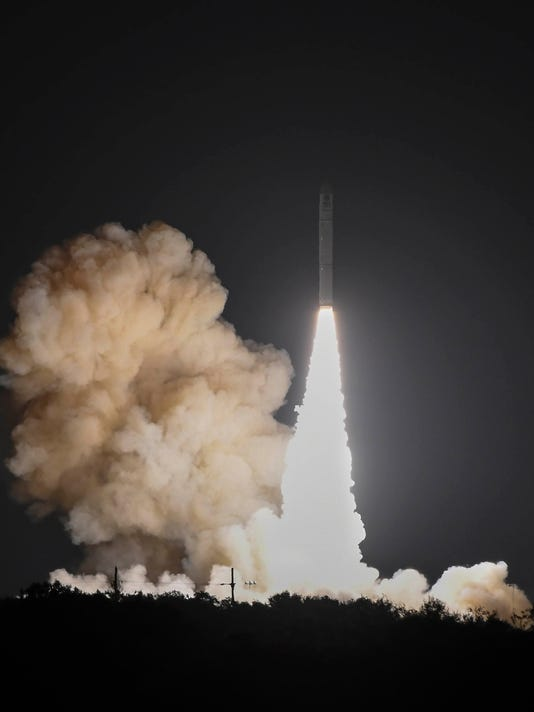 USP NEWS: MINOTAUR IV ROCKET USA FL