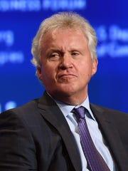 File photo taken in 2014 shows former GE CEO Jeffrey