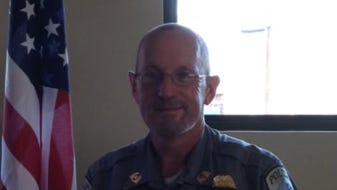 West Union Police Chief Charles Sanders