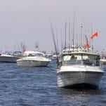 Boats on a lake.