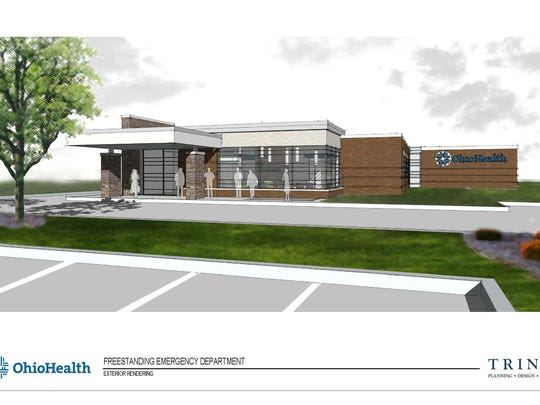 OhioHealth plans to open a new free-standing emergency department in Ontario, near O'Charley's restaurant, around August 2017.