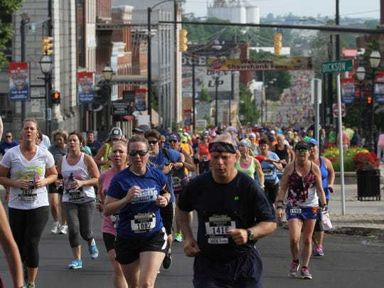 About 2,500 runners are expected to take part in this