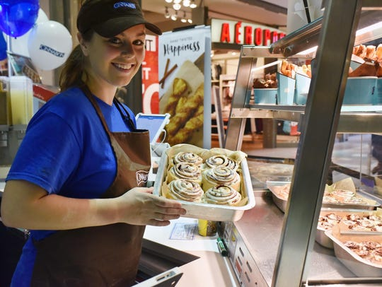 Cinnabon will open soon at Governor's Square Mall.