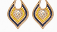 statement earrings from Charming Charlie's