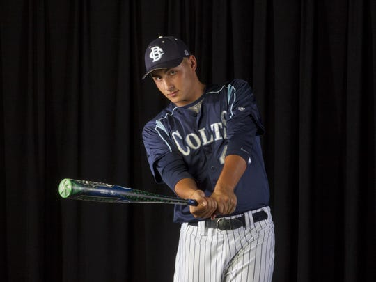 Luca Dalatri of Christian Brothers Academy is the 2015 All-Shore Baseball Player of the Year.