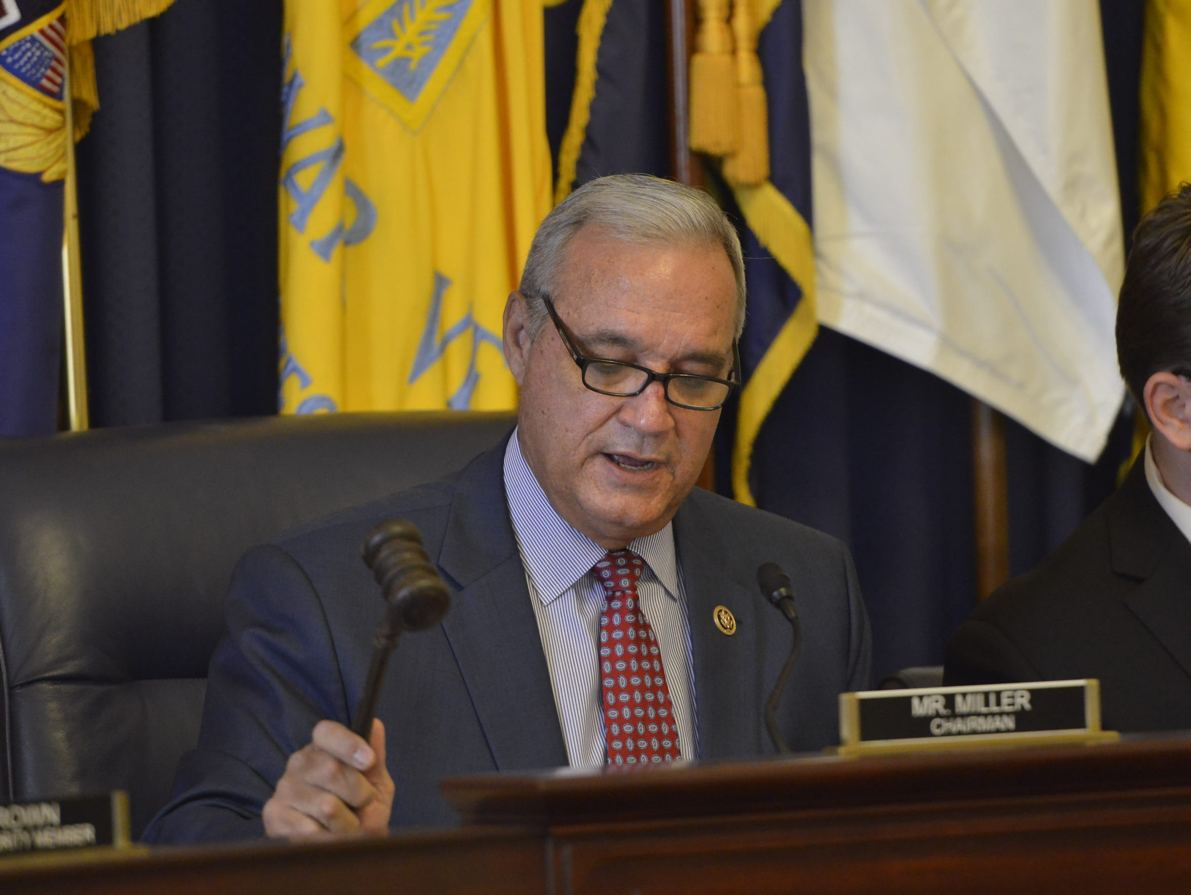 Rep. Jeff Miller, R-Fla., chairman of the House Committee