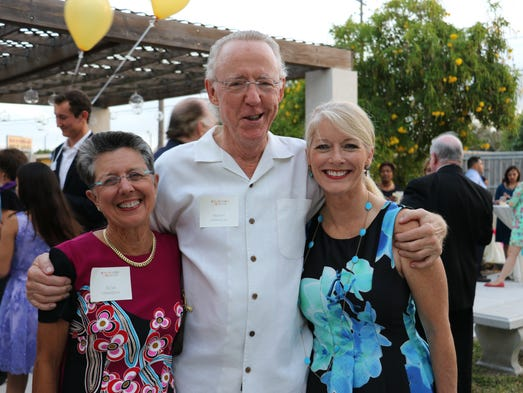 Dr. Marty and Ticia Hanisch, Lori Dellinger