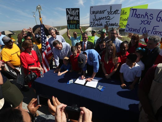 Florida Governor Rick Scott signed a bill Friday that