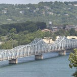 The Kimberling City bridge across Table Rock Lake will be cut down to a single lane beginning Tuesday.