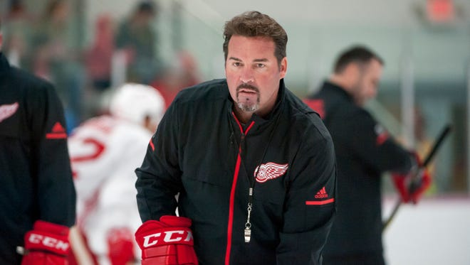 Todd Nelson guided the Grand Rapids Griffins to the AHL playoffs three times and won the Calder Cup in 2017.