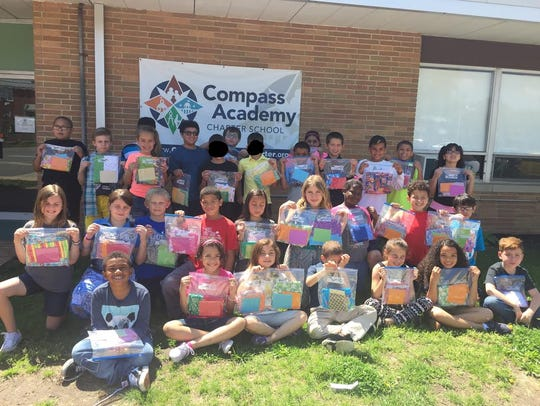 Compass Academy Charter School third graders showed