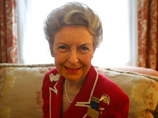 Phyllis Schlafly, anti-feminist political activist who led opposition to ERA, dies at 92